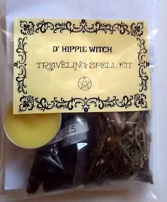 Wicca *TRAVELING SPELL KIT* Witch Spell Kit Rituals Magic Ritual