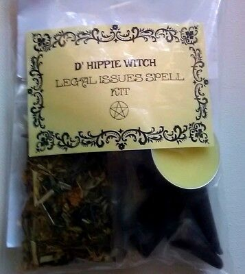 SPELL KIT 'CUTTING TIES'~Incantation White Magic Witch Ritual Wicca