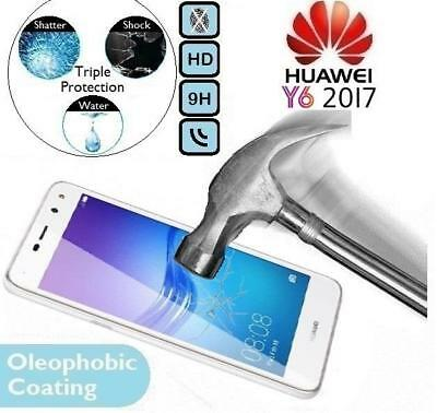 100% Genuine Tempered Glass Screen Protector 17 (MYA-L41/L11) For Huawei Y6 2017
