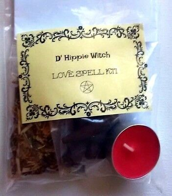 Wicca *LOVE SPELL KIT*Find your soulmate Witch Spell Kit Rituals Magic Ritual