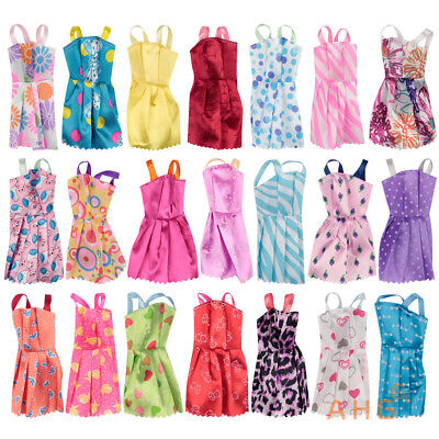 36X Barbie Doll Lace Dresses Shoes & Hangers Clothes Set Girls Gift Uk Free P&p