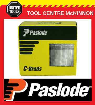PASLODE 25mm C SERIES 16 GAUGE GALVANISED BRADS / NAILS – BOX OF 3000