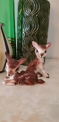 Vintage Kitsch Retro Made In Japan Ceramic Deer