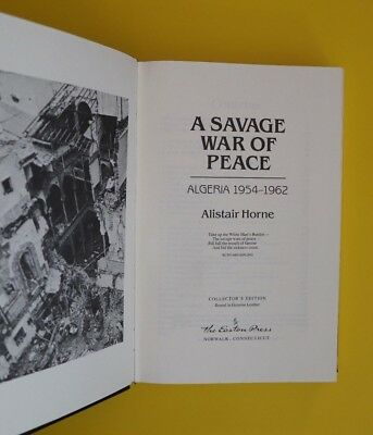 A Savage War Of Peace - Easton Press Collector's Edition Bound Genuine Leather