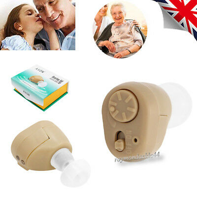 K-86 Mini Digital Invisible Ear Hearing Aid InEar Voice Sound Enhancer Amplifier