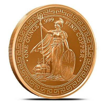 1 oz Copper Round - British Trade Dollar