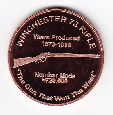 1 oz Copper Round - Winchester
