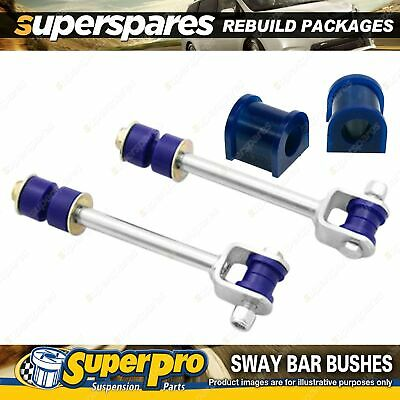 Rear SuperPro Sway Bar Rebuild Kit For Toyota Landcruiser 100 Series 98-07