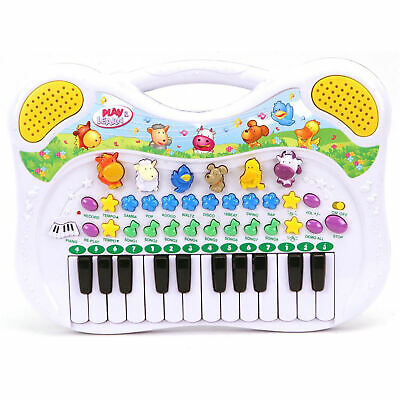 Kinder Keyboard Tierstimmen Musikinstrument Animal Piano Simon Musikfreunde