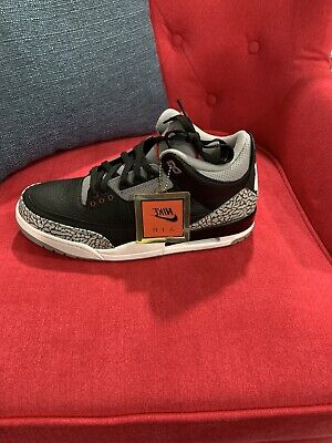1deef2a757fe4c Nike Air Jordan 3 Retro OG III Black Cement Fire Red 2018 AJ3 Men 854262-