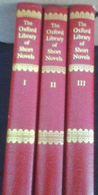 The Oxford Library of Short Novels 3 x book collection REDUCED!