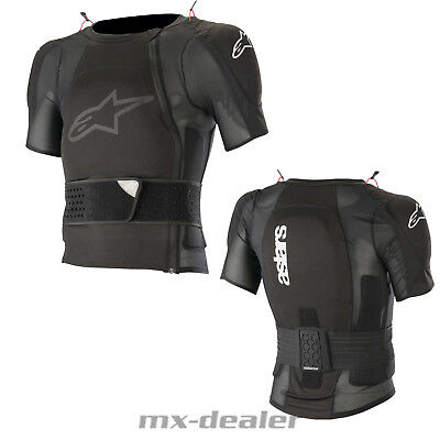 2019 Alpinestars Sequence Short Sleeve Jacket Protektoren Jacke Body Protector