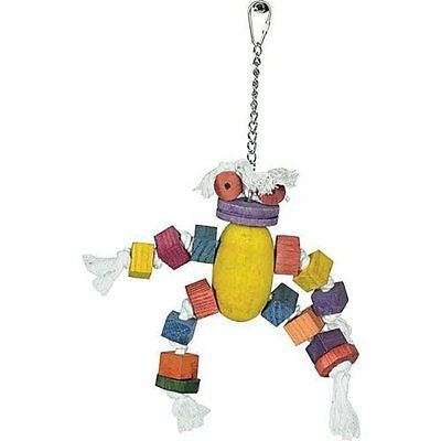 Parrot Toy with hanging chain