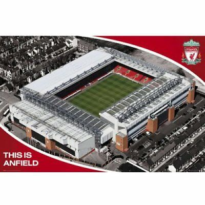 Liverpool Anfield Football Soccer Maxi Poster Print 61x91.5cm | 24x36 inches