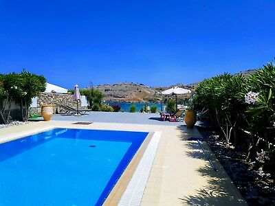 Luxury 3 bed sea view villa with pool, Lindos, Rhodes -  April 2020