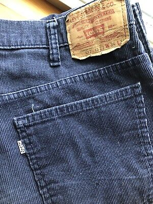 Vintage Levis 517 Corduroy Pants made in USA 34 x 34 white tag cords jeans boot