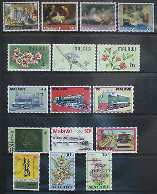 Malawi Mint and Used stamps