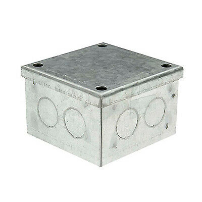 Galvanised Steel Knockout Adaptable Box