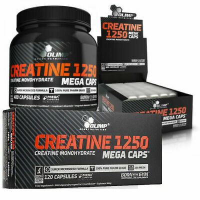 Olimp Creatine Monohydrate 1250 Mg Boost Strenght & Muscles 30/60/90/120/400