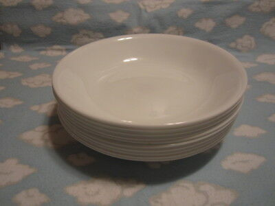 Corelle/Corning=Winter Frost White 20 0Z Bowls=Ten To Go One Price !!