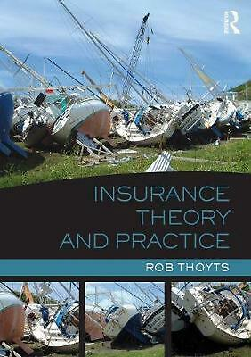 Insurance Theory and Practice by Rob Thoyts (English) Paperback Book Free Shippi