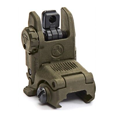 Magpul MBUS Gen2 Rear Black Flip / Pop Up Backup Sight MAG248-ODG Olive Drab
