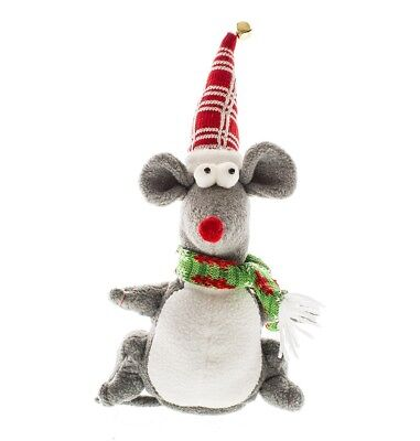 Talking Mouse Christmas Decoration