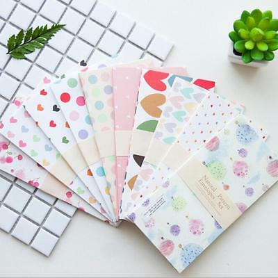 5Xset Colorful Envelope Small Craft Envelopes Wedding Letter Invitations·New