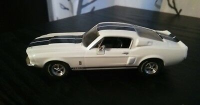 """1/43  Ford Shelby Mustang GT350 1/43 """"AMERICAN MUSCLE"""" 1967 ERTL  Exc."""