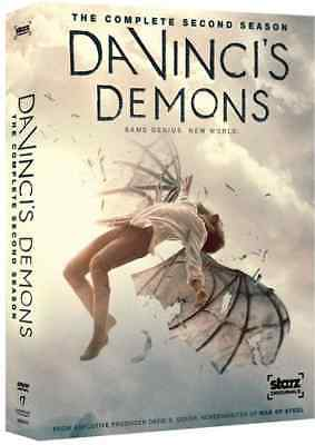Da Vinci's Demons - Season 2 - 3 Dvd Set - Region 1 - Brand New