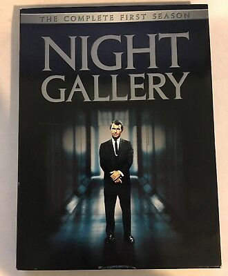 Night Gallery - The Complete First Season (DVD, 2004, 3-Disc Set) VG, Region 1