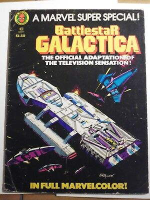 Marvel Super Special : Battlestar Galactica. Treasury Edition. 1978 Bronze Age