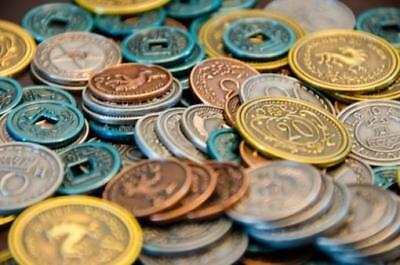 Stonemaier Boardgame Metal Coins MINT