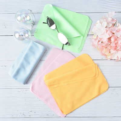 5pcs cleaner clean glasses lens cloth wipes microfiber eyeglass cleaning clot St