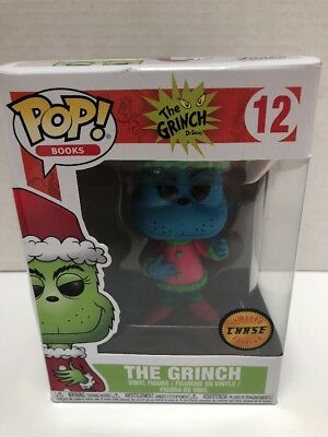 276064fef22 FUNKO POP BOOKS Dr. Seuss The Grinch Chase Vinyl Figure  12 Free ...