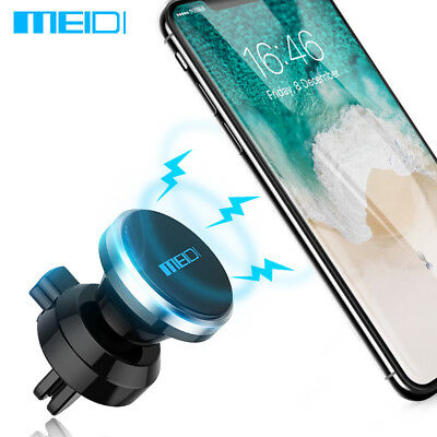 MEIDI Universal Magnetic Car Air Vent Phone Holder Mount For Mobile Cell Phone