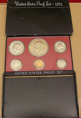 1975  US Mint  6 PC Clad Coin Proof Set