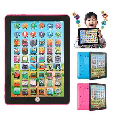 Mini Baby Kids Laptop Tablet Pad Computer Child Educational Game Toy Learning R