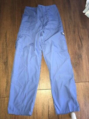 Expo Scrub Pants Size Medium Blue