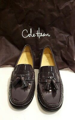 bf10dbacde1 COLE HAAN Womens Penny Loafer Kilt Patent leather sz EU 38 US 7 NikeAir