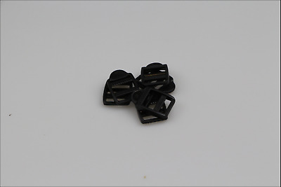 Ladder Lock plastic clips 10 x 25mm horse rugs dog collars leads