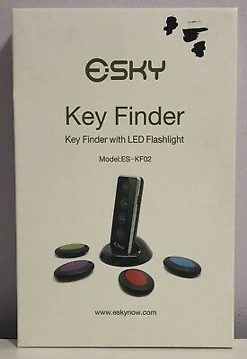 Key Finder Esky Wireless RF Item Locator Item Tracker Support Remote Control
