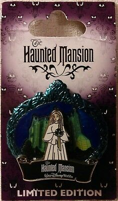 Disney Haunted Mansion 2009 Constance, The Bride 3-D Pin Limited Edition 2000
