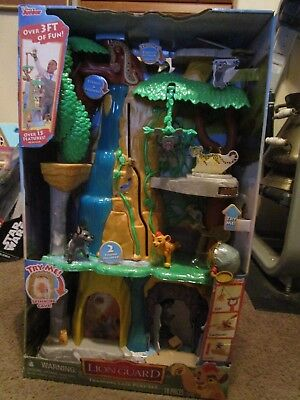 NEW Disney Junior The Lion Guard Training Lair Play Set