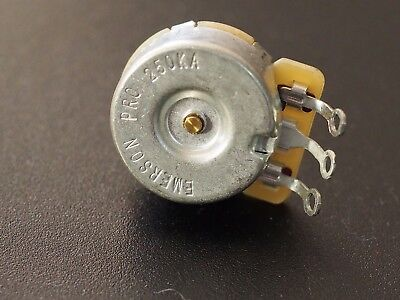 "Emerson Pro Cts - 250K Short (3/8"") Solid Shaft Potentiometer"