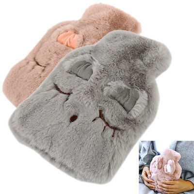 Large Hot Water Bottle bag  Soft  Quality Hot Water Bottles Warm Hand Foot