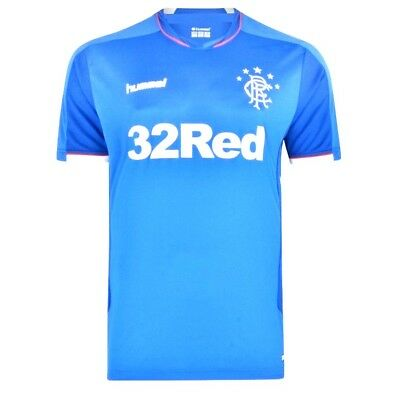 Fc Glasgow Rangers Shirt Adult Home Blue New Season 2018/19 New Shirt With Tags