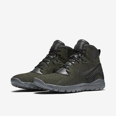 competitive price 8752b 9a83f Nike Koth Ultra Mid KJCRD Men s size 9.5 (Sequoia Black Grey)