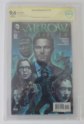 CBCS Graded 9.6 NM+, Arrow Season 2.5 #10 (2015), Signed Emily Bett Rickards