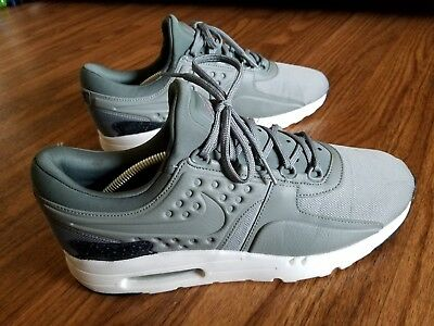 978a263d02a NIKE AIR MAX ZERO MENS 10 SNEAKERS SHOES 1 OLIVE GREY JORDAN RIVER ROCK  worn 1x -  61.77